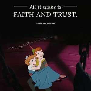 ALL IT TAKES IS FAITH AND TRUST